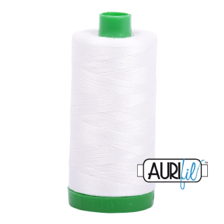 Aurifil 40 Cotton Thread - 2021 (Off White)